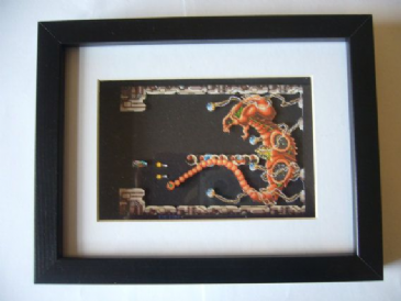 R - TYPE   3D Diorama Shadow Box